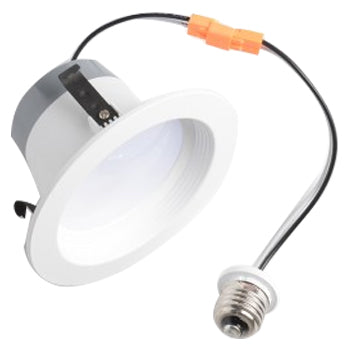 "Best Lighting Products 4"" LED Downlight White Baffle 3K Downlight Fixture (BRK-LED4-BW-3-ECO)"