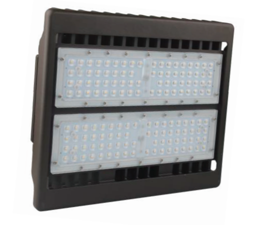 Best Lighting Products Standard 80 Watt LED Flood Light - 5000K 120V-277V 10,008 Lumens Bronze Fixture (LEDMPALPRO80-5K-T3)