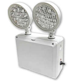 Best Lighting Products Wet Location Remote Capable LED Emergency Unit Gray 120-277V (LEDTFX-2)