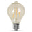 Feit Electric Amber Original Exposed Filament Vintage Glass Soft White Dimmable LED Light Bulb AT19 (AT19/VG/LED)