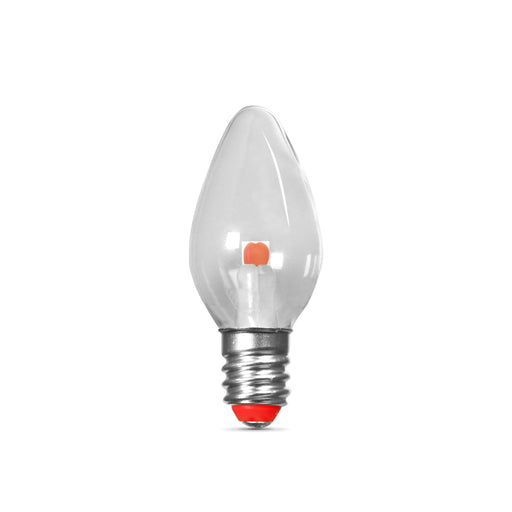 Feit Electric LED Red Night Light Replacement Bulbs - 2 Pack (BPC7/R/LEDG2/2)