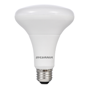 Sylvania 9 Watt BR30 LED 2700K 120V 650 Lumen 80 CRI Medium (E26) Base Dimmable Bulb (LED9BR30DIM82710YVRP2)