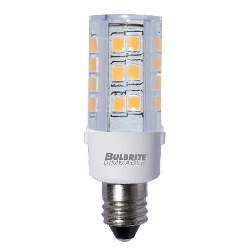 Bulbrite LED4E12/27K/120/D 4.5W LED E12 Clear 2700K 120V Dimmable (770595)