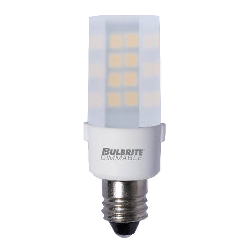 Bulbrite LED4E12/27K/120/F/D 4.5W LED E12 Frost 2700K 120V Dimmable (770596)