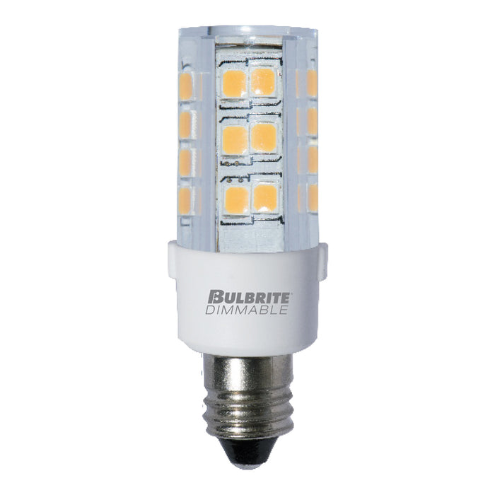 Bulbrite LED4E11/30K/120/D 4.5W LED E11 Clear 3000K 120V Dimmable (770581)