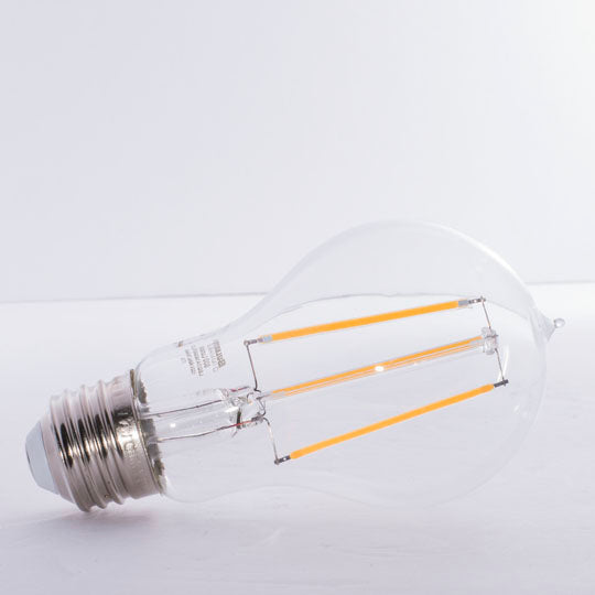 Bulbrite LED7A19/30K/FIL/2 7W LED A19 3000K Filament E26 Fully Compatible Dimming (776668)
