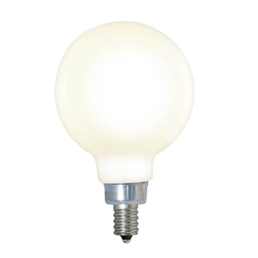 Bulbrite LED4G16/27K/FIL/M/3 4W LED G16 2700K Filament E12 Fully Compatible Dimming Milky White (776612)
