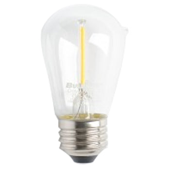 Bulbrite LED2S14/27K/FIL/3 2.5W LED S14 2700K Filament E26 Fully Compatible Dimming (776851)