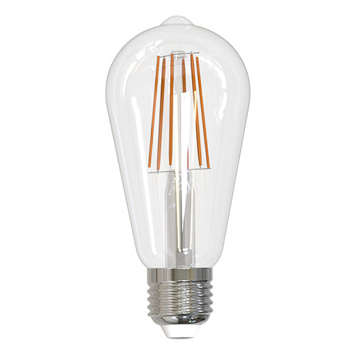 Bulbrite LED8ST18/30K/FIL/2/JA8 8.5W LED ST18 3000K Filament Fully Compatible Dimming JA8 (774139)