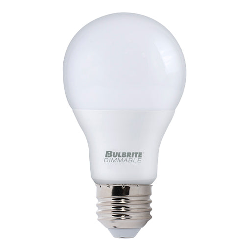 Bulbrite LED9A19/940/D 9W LED A19 Dimmable UL Enclosed 4000K E26 120V (774116)