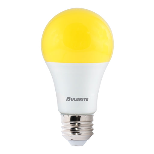 Bulbrite LED9A19/YB 9.5W LED A19 Yellow Bug 2700K E26 120V (774000)