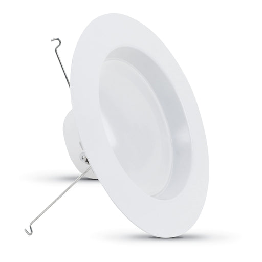 "Feit Electric LED 5"" & 6"" Retrofit Recessed Kit, 2700K 100W Equivalent Dimmable Fixture (LEDR56HO/927CA)"
