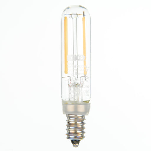EIKO LED2WT6E12/FIL/827-DIM-G7 LED Advantage Filament T6 320 Degree 2W 120lm Dimmable 80 CRI 2700K E12 120Vac (09865)