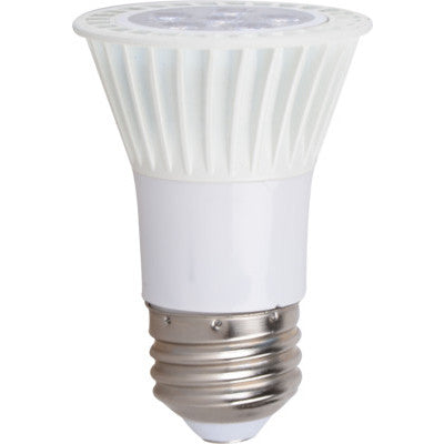 EIKO LED7WPAR16/FL/827K-DIM-G5 LED Litespan PAR16 7W-420lm 40 Degree Beam 2700K 80 CRI E26 Base 120Vac (09041)