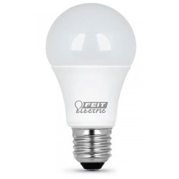 Feit Electric A19 75 Watt Equivalent, LED, 1100 Lumen, 5000K Bulb, 2 Pack (A1100/850/10KLED/2)