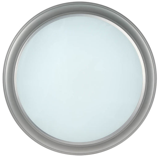 "Feit Electric 3000K Dimmable LED 13"" Flushmount Satin Nickel w/ Alabaster Glass Fixture (73808)"