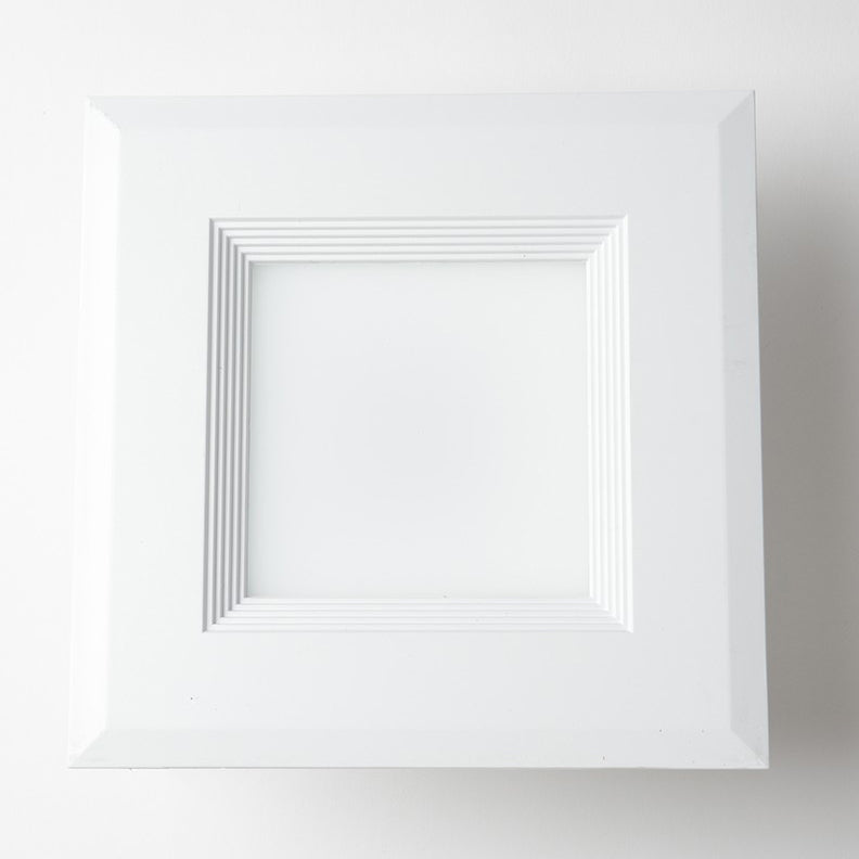 Feit Electric LED 6 Inch Downlight Square Retrofit Recessed Kit - 3000K 65W Equivalent - 90+ CRI Fixture (LEDRSQ6/930CA)