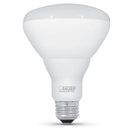 Feit Electric LED BR30 85W Equivalent - 1100 Lumens - Dimmable - 2700K CEC Compliant Bulb (BR30DMHO/927CA)
