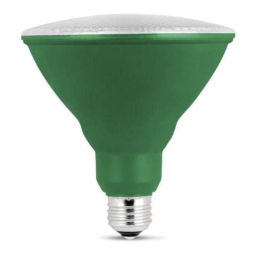 Feit Electric LED Green Color, PAR38 Reflector, Bulb (PAR38/G/10KLED)