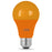 Feit Electric LED Orange Color, A-Shape Party Bulb (A19/O/10KLED)