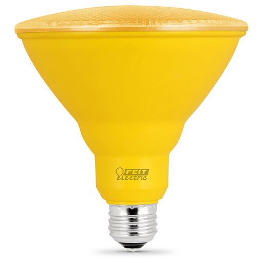 Feit Electric LED Yellow Color, PAR38 Reflector, Bulb (PAR38/Y/10KLED)