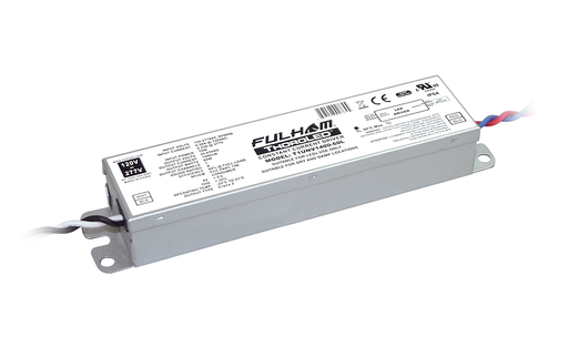 Fulham ThoroLED - Single Channel - LED Driver - Univ. Volt. Input - 1400mA Constant Current Output - Max 60W - Linear Case - IP64 (T1UNV1400-60L)