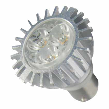 Halco 80169 3.5 Watt LED MR11 2700K 10V-15V 82 CRI Double Contact Bayonet (BA15D) Base Bulb (MR11FTD/827/BA15D/LED)