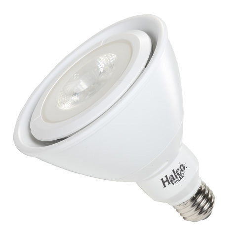 Halco 83025 17 Watt LED PAR38 3000K 120V 90 CRI Medium (E26) Base Dimmable Bulb (PAR38FL17/930/WH/LED )