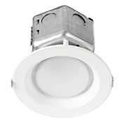 Halco ProLED CDL4FR10/930/RTJB/LED 10W LED 120V-277V 3000K 90 CRI White Dimmable Downlight (99611)