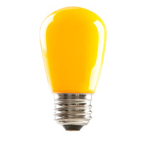 Halco Yellow 1.4 Watt - Dimmable LED - S14 REPLACES 11W S14
