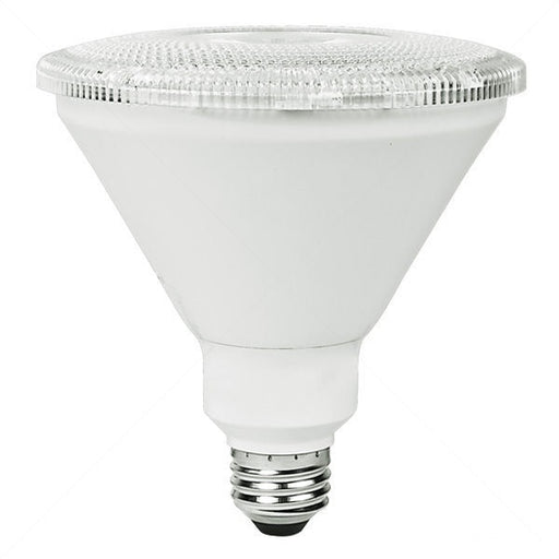 TCP 13 Watt PAR38 LED 3000K 120V 1000 Lumen 80 CRI Medium (E26) Base White Dimmable Flood Bulb (L14P38D30KFLW)