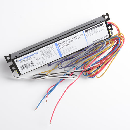 GE 38975 4 LED 0-10 Dimming LED Driver 120-27760W .64A (LED15T8/DR/D4L)