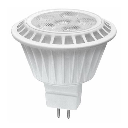 TCP 7 Watt MR16 LED 3000K 12V 470 Lumen 80 CRI Bipin (GU5.3) Base Dimmable Shatter Resistant Narrow Flood Bulb (LED712VMR16V30KNFL)