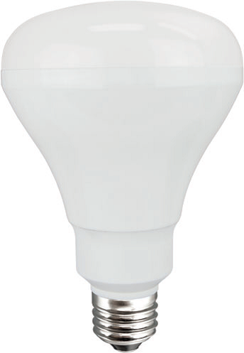 TCP 9 Watt BR30 LED 2400K 120V 520 Lumen 82 CRI Medium (E26) Base Dimmable Flood Bulb (LED9BR30D24K)