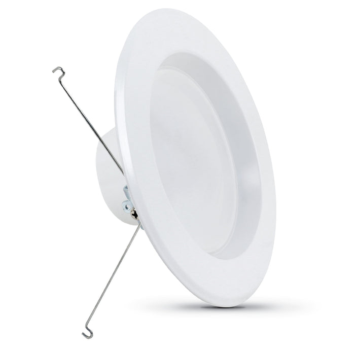 "Feit Electric LED 5""/6"" 75W Equivalent, Retrofit Kit, 925 Lumens, 2700K, Dimmable, CEC Compliant (LEDR56/CA/927)"