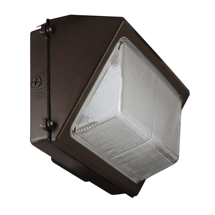 Best Lighting Products 80 Watt LED Wall Pack - 5000K 120V-277V 80 CRI 7335 Lumen Bronze Fixture - DLC Standard (LEDWP80W-5K)