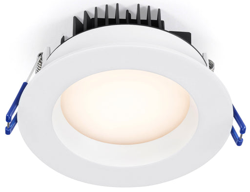 Lotus LED Lights Regressed 4 Inch Round Plenum 14.5W LED 4000K White 95 Degree 1020 lm Type IC Wet IP54 CRI 90+ (LL4RR-40K-WH)