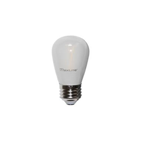 Maxlite 101425 Frosted 2W LED Filament S14 Non-Dimmable 2700K (FF2S14ND27)