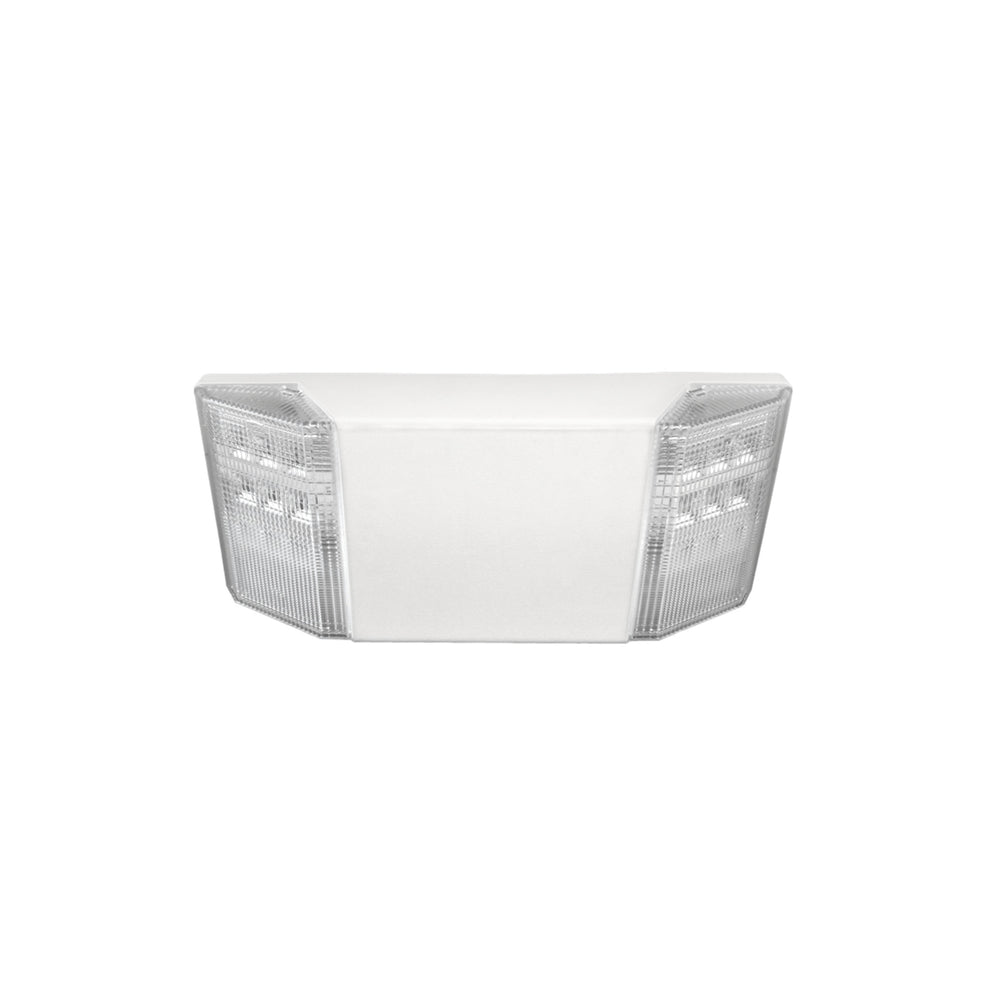 NICOR EML Series Compact Emergency LED Light Fixture (EML2-10-UNV-WH)