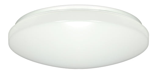 SATCO/NUVO 14 Inch Flush Mounted LED Light Fixture White Finish 3000K 120-277V (62-796)