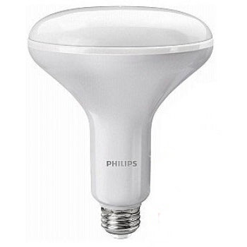 Philips 45701-0 10 Watt BR40 LED 2700K-2200K 120V 800 Lumen 80 CRI Medium (E26) Base White Dimmable Flood Bulb (10BR40/LED/827-22/DIM 120V)