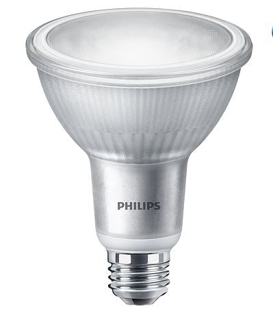 Philips 529735 10PAR30L/LED/827/F40/DIM/ULW/120V 6/1FB 10W LED PAR30L Flood 40 Degree 2700K 120V 80 CRI Dimmable E26 Base Glass (929001322004)