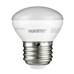 Sunlite 4 Watt R14 LED 2700K 120V 250 Lumen 80 CRI Medium (E26) Base Frosted MINI-Reflector Dimmable Flood Bulb (80431-SU)