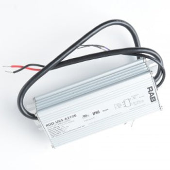 RAB Driver 85W 42V 50/60Hz 120-277 2100Ma Dimmable 50/60Hz 69189 (RDD-U85-A2100)