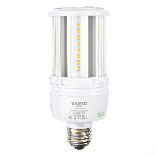 SATCO/NUVO 18W LED HID Replacement 2700K Medium Base 100-277V (S39670)