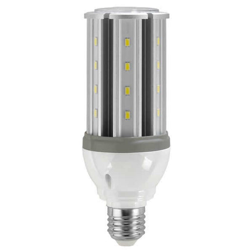 Satco 10 Watt Low Voltage Corn Cob LED 5000K 12V-24V 1200 Lumen Medium (E26) Screw Base - for Matine or RV Use (S9753)