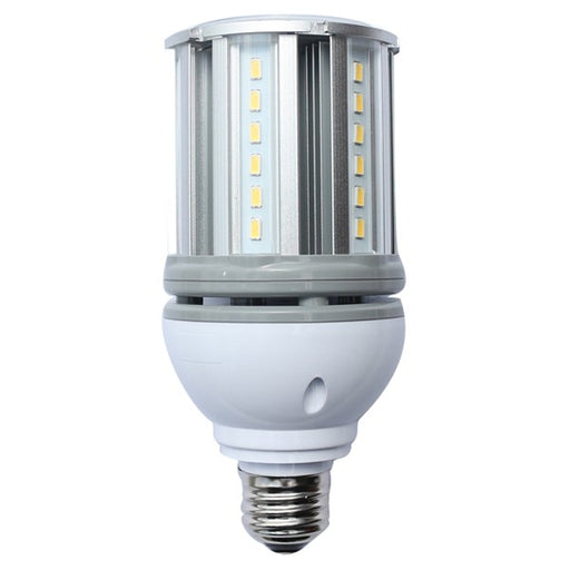 Satco 14 Watt Low Voltage Corn Cob LED 5000K 12V-24V 1680 Lumen  Medium (E26) Screw Base - for Matine or RV Use (S9754)