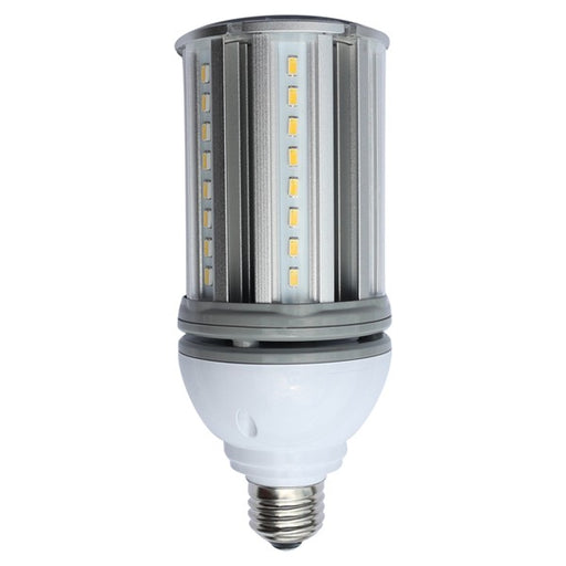 Satco 18 Watt Low Voltage Corn Cob LED 5000K 12V-24V 2160 Lumen Medium (E26) Base - For Marine Or RV Use (S9755)