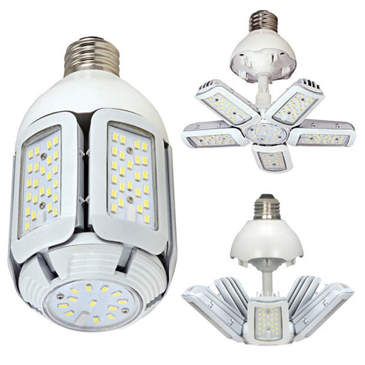 SATCO/NUVO 40W/LED/HID/MB/2700K/100-277V/EX39 40W LED HID Replacement 2700K Mogul Extended Base Adjustable Beam Angle 100-277V (S29798)