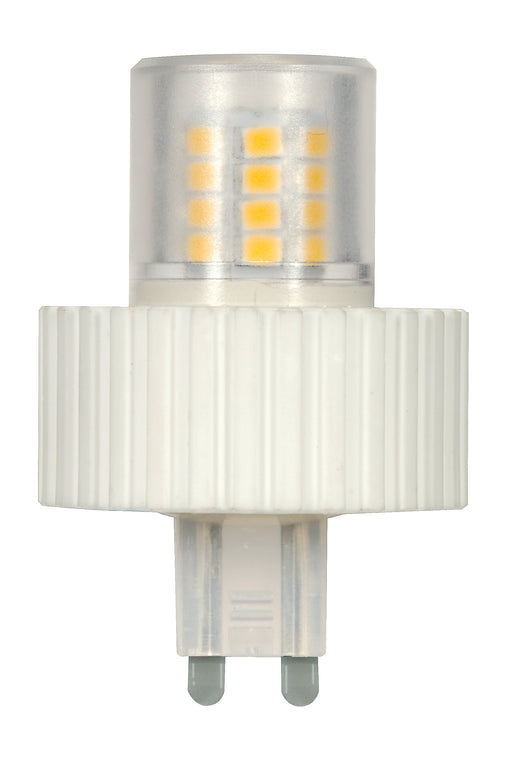 Satco S9227 5 Watt T4 Replacement LED 5000K G9 Base 360 Foot Beam Spread 120 Volts (LED 5.0W G9 450L 5000K)